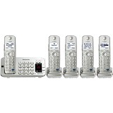 PANASONIC Cordless Phone [KX-TGE275] - Silver - Wireless Phone